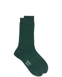 dunkelgrüne Socken von Ayame