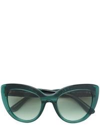 dunkelgrüne Sonnenbrille von Dolce & Gabbana