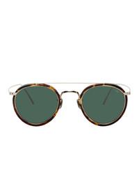 dunkelgrüne Sonnenbrille von Eyevan 7285