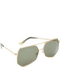 dunkelgrüne Sonnenbrille von Grey Ant