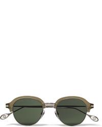 dunkelgrüne Sonnenbrille von Gucci