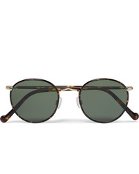 dunkelgrüne Sonnenbrille von Moscot