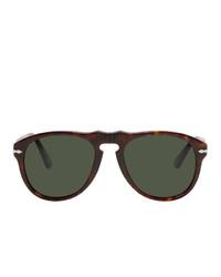 dunkelgrüne Sonnenbrille von Persol