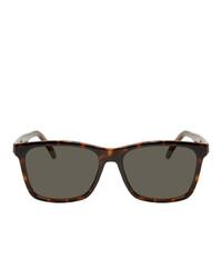 dunkelgrüne Sonnenbrille von Saint Laurent