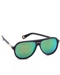 dunkelgrüne Sonnenbrille von Marc Jacobs