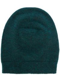 dunkelgrüne Strick Mütze von Roberto Collina