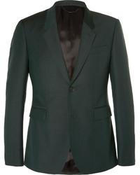 dunkelgrüner Anzug von Burberry