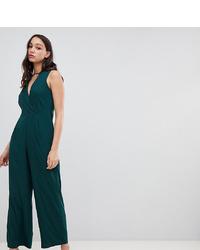 dunkelgrüner Jumpsuit von Vero Moda Tall