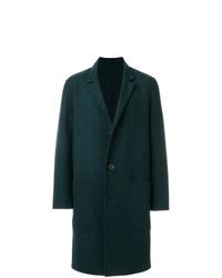 dunkelgrüner Mantel von AMI Alexandre Mattiussi