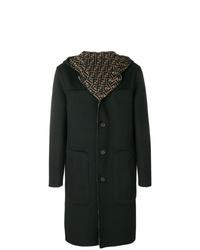 dunkelgrüner Mantel von Fendi