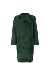 dunkelgrüner Mantel von Golden Goose Deluxe Brand