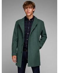 dunkelgrüner Mantel von Jack & Jones