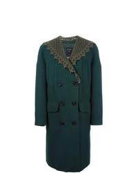 dunkelgrüner Mantel von Jean Paul Gaultier Vintage