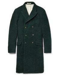 dunkelgrüner Mantel von Massimo Alba