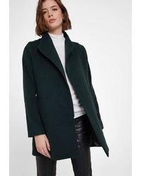 dunkelgrüner Mantel von OXXO