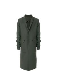 dunkelgrüner Mantel von Rick Owens