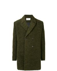 dunkelgrüner Mantel von Strateas Carlucci