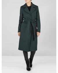 dunkelgrüner Mantel von Y.a.s