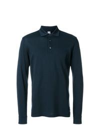 dunkelgrüner Polo Pullover