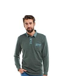 dunkelgrüner Polo Pullover von ENGBERS