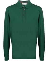 dunkelgrüner Polo Pullover von Etro