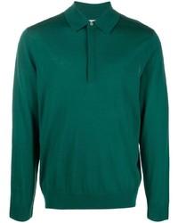 dunkelgrüner Polo Pullover von Paul Smith
