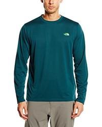 dunkelgrüner Pullover mit einem Rundhalsausschnitt von The North Face