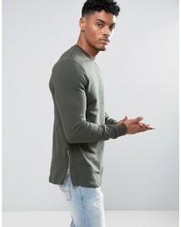 dunkelgrüner Pullover von Asos
