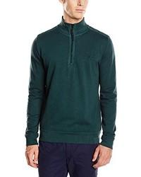 dunkelgrüner Pullover von CALAMAR MENSWEAR