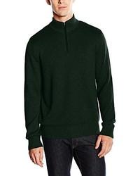 dunkelgrüner Pullover von Eddie Bauer