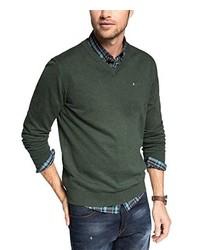 dunkelgrüner Pullover von Esprit