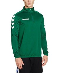 dunkelgrüner Pullover von Hummel