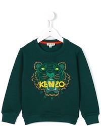 dunkelgrüner Pullover von Kenzo