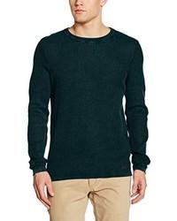 dunkelgrüner Pullover von Q/S designed by