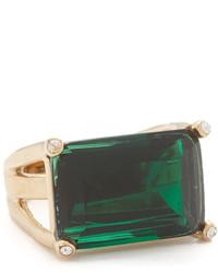 dunkelgrüner Ring von Kate Spade