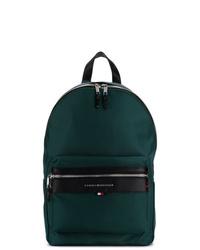 dunkelgrüner Rucksack von Tommy Hilfiger