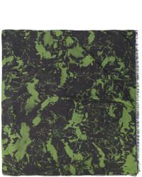 dunkelgrüner Schal von Balmain