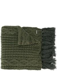 dunkelgrüner Schal von Diesel