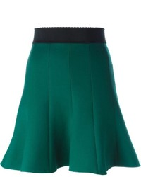 dunkelgrüner Skaterrock von Dolce & Gabbana