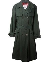 Dunkelgruener trenchcoat original 4907283