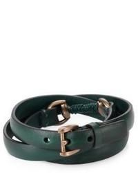 dunkelgrünes Armband