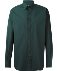 dunkelgrünes Businesshemd