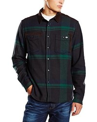 dunkelgrünes Langarmhemd von Dickies