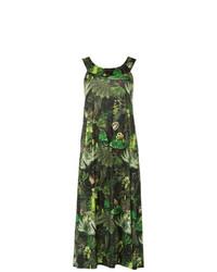 dunkelgrünes Strandkleid von Lygia & Nanny