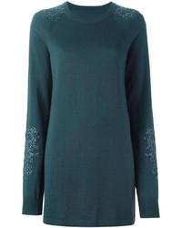 dunkelgrünes Sweatkleid von Maison Margiela