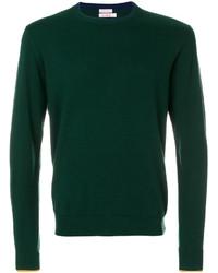 dunkelgrünes Sweatshirt