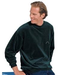 dunkelgrünes Sweatshirt von CATAMARAN