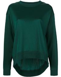 dunkelgrünes Sweatshirt von MM6 MAISON MARGIELA