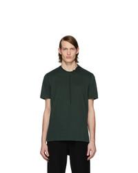 dunkelgrünes T-Shirt mit einem Rundhalsausschnitt von Craig Green