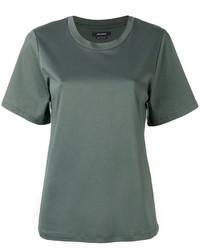 dunkelgrünes T-shirt von Isabel Marant